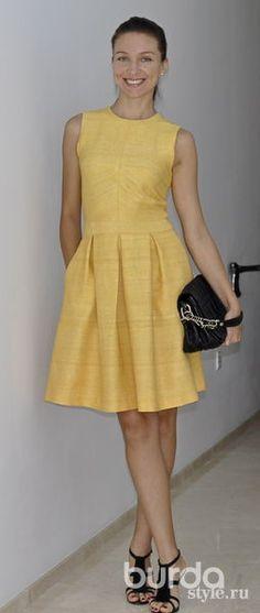 Платье шелковое - Фотофорум - Burdastyle: клуб по интересам: мастер-классы по шитью и рукоделию, мода, стиль, конкурсы