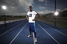Usain Bolt - Puma Usain Bolt, Five Star, Leonardo Dicaprio, Track And Field, Cross Country, Athlete, Running, Celebrities, Sports