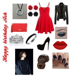 """""""Happy birthday Ashton 🎈❤️💋"""" by mrshemmings763 ❤ liked on Polyvore featuring See by Chloé"""