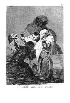 No one has seen us - Francisco Goya