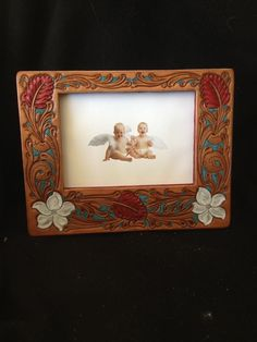 great gift idea custom hand tooled leather picture frames cdk leather fort