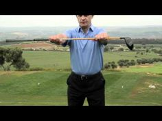 #Golf pro Simon Holmes discusses how #balance comes from the ground up and talks through warming your lower body, especially your #hips and #knees so you are ready for your first swing.