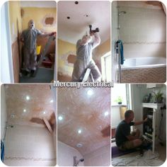 Bathroom lighting and ventilation