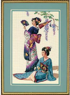 Jewels of the Orient - Cross Stitch Kit {{so close to being done with this one!!}}