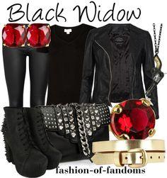 "Black Widow ""avengers"" | Fandom Fashion"