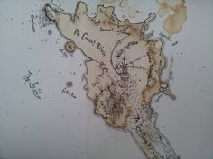 Poetic: coffee stains islands