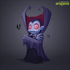 Vampire - game concept art by Sephiroth.