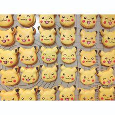 Pikachu Macarons