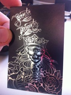 SANTA MUERTE INK on Behance