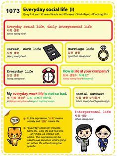 (1073) Everyday social life (I)