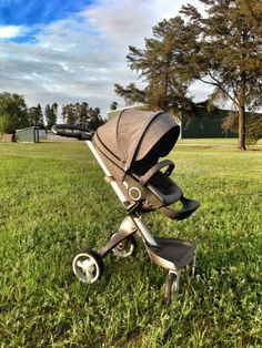 Stokke Xplory Blue Melange Limited Edition. #Luxury #stroller #strollerreview
