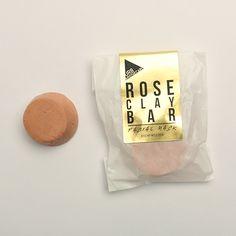 Rose Clay Facial Mask Bar