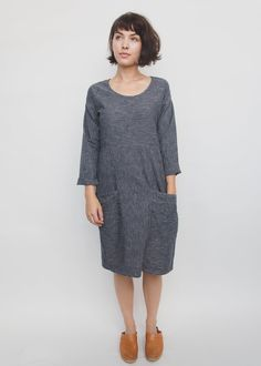 contacted** Charleston Dress Organic Hemp Cotton Temperate October