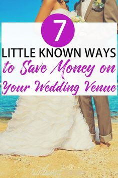 to Save Money on Your Wedding: The Venue If there's only one thing you remember from this article: book your wedding venue early! Plus, six more tips on saving money on your wedding venue.The Wedding The Wedding may refer to: Budget Wedding, Wedding Tips, Diy Wedding, Wedding Venues, Wedding Planning, Wedding Reception, Wedding Punch, Wedding Costs, Wedding Themes