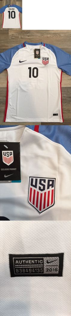 Soccer-National Teams 2891: Christian Pulisic Usa #10 Jersey : United States Soccer: Adult White Large -> BUY IT NOW ONLY: $49.99 on eBay!