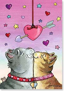 """You make my heart purrr...""  by Gary Patterson"