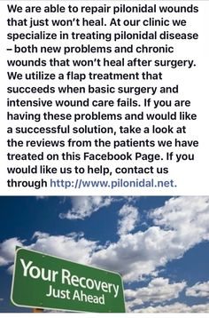 Pilonidal Cyst, Wound Care, After Surgery, Clinic, Healing