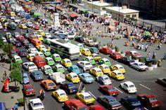 ¿Sabías que en el DF las personas pasan 2.4 años de su vida atoradas en el tráfico?