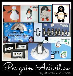 Penguin Activities: A Round-Up from Boy Mama Teacher Mama