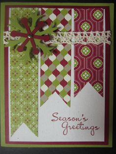 Stampin' Up Handmade Greeting Card by ConroysCorner on Etsy