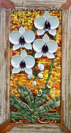 Flores tazas rotas
