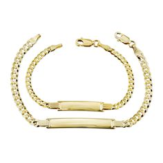 Mama & Mini Matching Name Bracelet Set (2 bracelets) - 6.5 / 6 / Arial