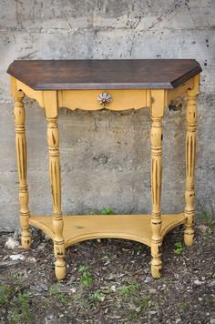 Redemption Refinishing: Arles Side Table and Garage of Good