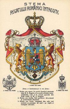 Stema Regala - Category:Coats of arms of the Romanian Kingdom - Wikimedia Commons Romania Map, Romania Travel, Bucharest Romania, Michael I Of Romania, History Of Romania, Romanian Royal Family, Romanian Flag, Romania People, Coat Of Arms