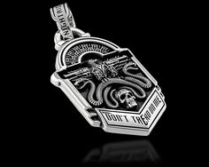 Don't Tread On Me Eagle - Pendants | NightRider Jewelry