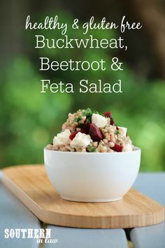 This Buckwheat, Beetroot and Feta Salad Recipe is the perfect clean eating friendly lunch, side dish or dinner addition. Salad Recipes Gluten Free, Salad Recipes Video, Salad Recipes For Dinner, Healthy Recipes, Alkaline Recipes, Paleo Meals, Buckwheat Salad, Buckwheat Recipes, Beetroot And Feta Salad