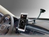 AboveTEK® Premium Quality Universal Smartphone Tablet Windshield Dashboard Car Mount Holder – Fits all Gadgets Width Between 2.2-5.5 inches or Diagonal Screen Size Between 3.5-8 inches – Best Multi-Purpose Cell Phones and Table PC Window Suction and Dash Support Car Mount Kit – Strong Suction and Very Steady Support with Two Sizes Holders – Excellent for Large Screen iPhone 6 /6/5S/5 Galaxy S5/S4/S3 Note 4/3/2 Mobile phones and Electronic Devices