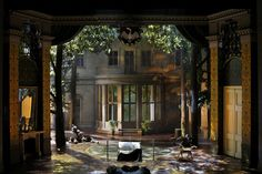 Bayreuth Festival's 2011 production of Parsifal directed by Stefan Herheim… Stage Set Design, Set Design Theatre, Theater, Scenic Design, Stage Lighting, Lighting Design, Concept Art, Cool Designs, Scenery