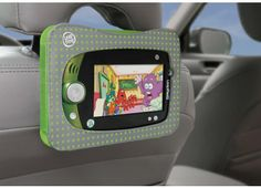 Such a great idea!! Perfect for our morning commute. LeapPad1/LeapPad2™ Video Display Case #LeapFrogWishLIst