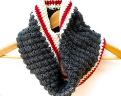 Crochet Cowl Pattern Crochet Neck Warmer Pattern Circle Scarf