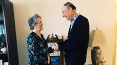 High school sweethearts reunite and marry 64 years after being prom dates | abc7.com