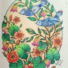 Este colorido fez parte de um desafio! This colouring was part of a challenge! Dagdrömmar/ Hana Karlzon  #dagdrömmar #daydreamers #hannakarlzon#hannakarlzondagdrömmar #adultcolouringbooks @casadaloiseshop @divasdasartes @colorindolivrostop @boracolorirtop