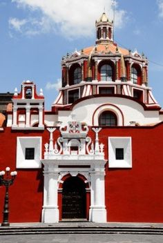 San Domingo Church in Puebla - Mexico
