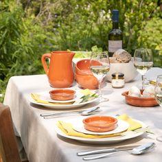#summer #dinner in the #garden | Dille & Kamille