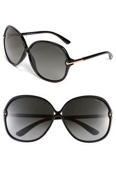 Tom Ford Oversized Sunglasses | Nordstrom Types Of Sunglasses, Tom Ford Sunglasses, Ray Ban Sunglasses, Sunglasses Accessories, Sunglasses Women, Women Accessories, Clothing Accessories, Tom Ford Eyewear, Glasses Brands