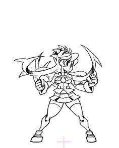 Skull girls characters coloring pages ~ skullgirls gif | Tumblr | Fight Fathoms: Inspiration ...