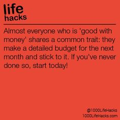Improve your life one hack at a time. 1000 Life Hacks, DIYs, tips, tricks and More. Start living life to the fullest! Simple Life Hacks, Useful Life Hacks, College Checklist, College Hacks, 1000 Life Hacks, Everyday Hacks, Financial Tips, Money Management, Things To Know