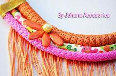 Collar de diseño facebook.com/byjohanaaccesorios