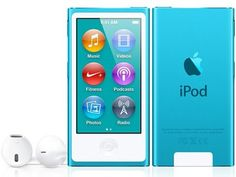 APPLE iPod Nano 7th Generation [16GB] (Blue) (released in October 2012)