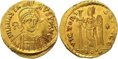 Anastasius, 11 April 491 - 1 July 518 A.D.