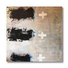Original Painting   Large Abstract  Mixed Media by Kate Schlueter etsy: readkate