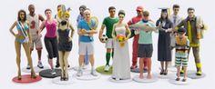 Become a Burlesque Dancer, Teacher, Fireman & More – PetitMe Will 3D Print You As Such http://3dprint.com/12027/petitme-3d-print-figurines/