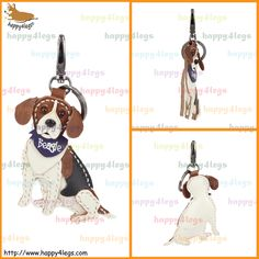Beagle Genuine Leather Bag Charm http://www.happy4legs.com/#!beagle-bag-charm-1/kgeep