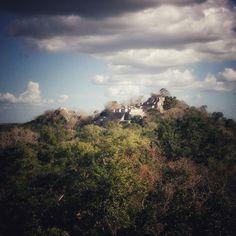 Calakmul mayan Ruins_Campeche Mexico