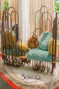 London Design Festival 2019 – Style&Co Interior Blogs, Interior Design Shows, Woven Chair, London Design Festival, Brown Walls, Hanging Chair, Furniture Design, House Styles, Inspiration