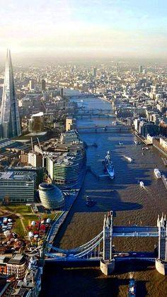 The River Thames, London sashastergiou: